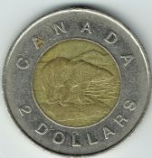 Canada, Elizabeth II, Two Dollars 1996, VF, WB6708